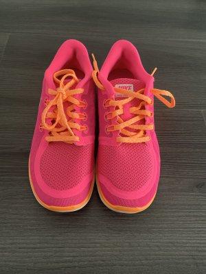 Nike Free 5.0 - pink/orange - Gr. 38