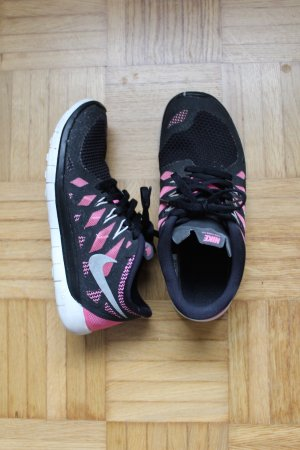 Nike Basket noir-rose