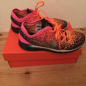 Nike Free 5.0 TR Fit 5 Print (black/orange/silver/pink)