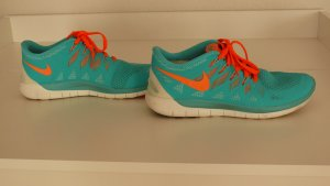 Nike Free 5.0 türkis/orange
