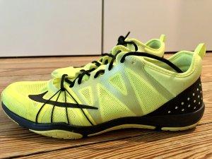 Nike Free Cross Compete - neongelb/schwarz - Größe 39