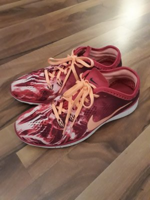 Nike Sneaker stringata arancione chiaro-rosa