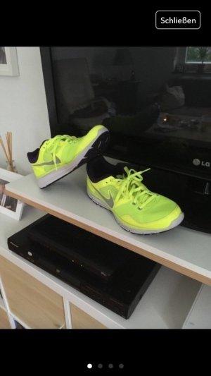 Nike Free neon gelb lila