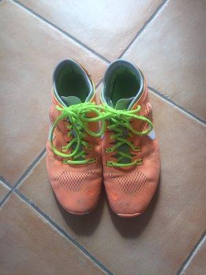 Nike Free neon orange & gelb 40,5 41 guter Zustand