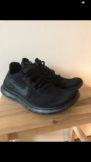 Nike Free RN Flyknit 40.5 - 26 cm schwarz