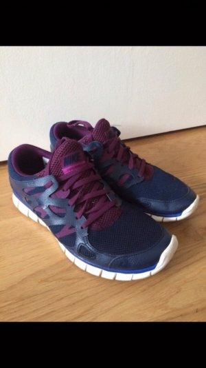 Nike Free Run 2 Blau Beere 40.5 26 cm