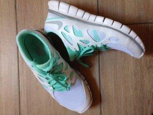 Nike Free Run 2 Ext Größe 41 weiß mint