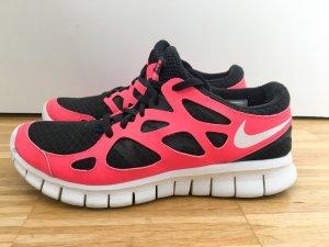 NIKE Free Run 2 Sneaker pink/schwarz