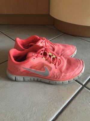 Nike Free run 3 neon Pink 42