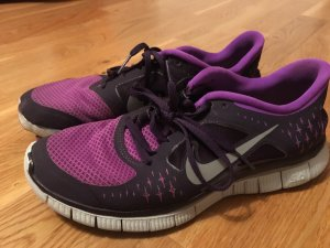 Nike Free Run in Lila