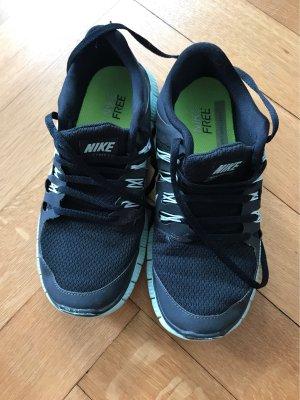Nike Free schwarz/Türkis