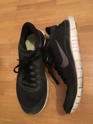 Nike Free Sneakers, schwarz