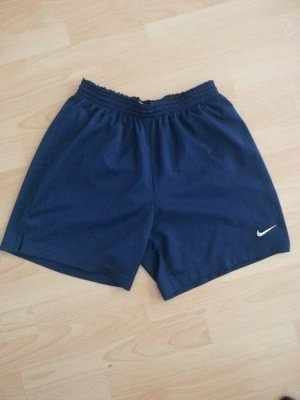 Nike Fußball Short blau gr. M