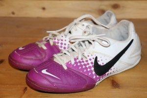 Nike Basket à lacet blanc-violet