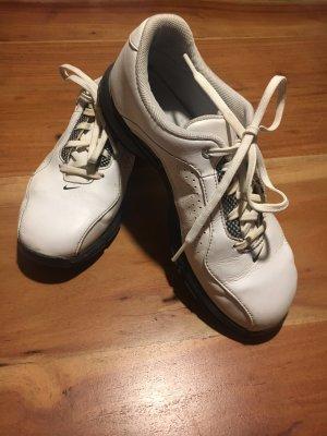 Nike Golfschuhe - weiß / schwarz - Größe 36 - Leder - guter Zustand