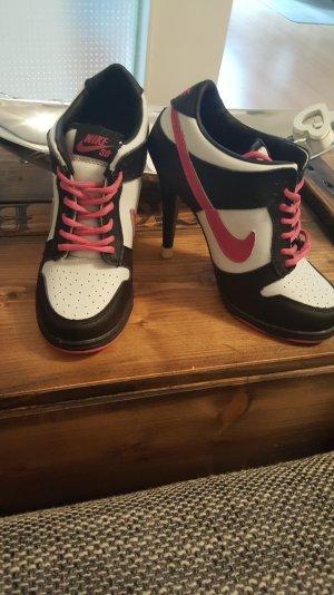 Nike high heels black/pink