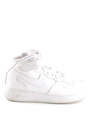 Nike High Top Sneaker weiß Casual-Look