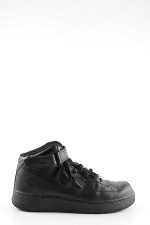 "Nike High Top Sneaker ""Air Force 1"" schwarz"