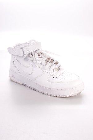 "Nike High Top Sneaker ""Air Force 1 Mid"" weiß"
