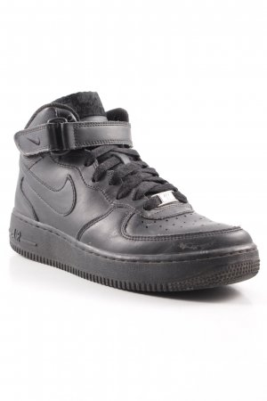 "Nike High Top Sneaker ""Air Force 1"" schwarz"