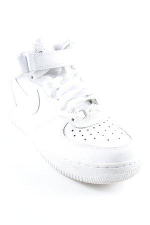 "Nike High Top Sneaker ""Air Force 1"" weiß"