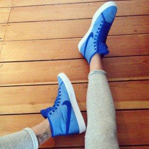 Nike High Top Sneaker Babyblau Neu Shopbop Free Air Max Dunk Sky