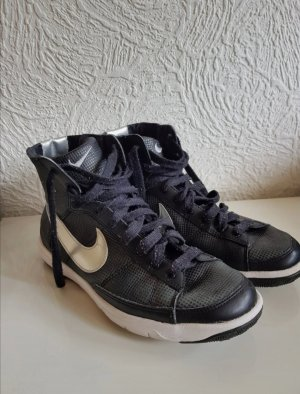 Nike High top sneaker zwart-zilver