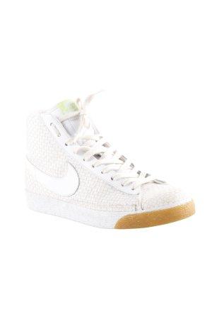 Nike High Top Sneaker hellbeige Casual-Look