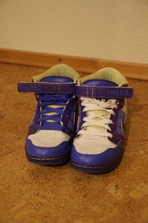 Nike High Top Sneaker lila/gelb/weiß