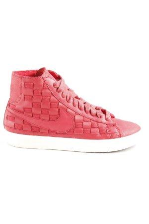 Nike High Top Sneaker rot Webmuster Casual-Look