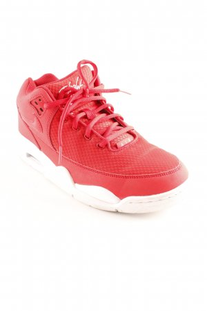 Nike High Top Sneaker rot-weiß sportlicher Stil