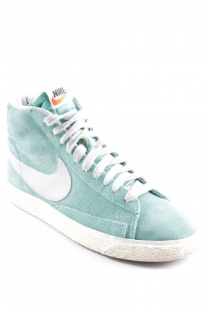 Nike High Top Sneaker türkis-hellgrau College-Look