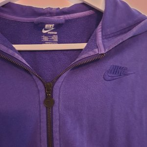 Nike Blusa con capucha lila