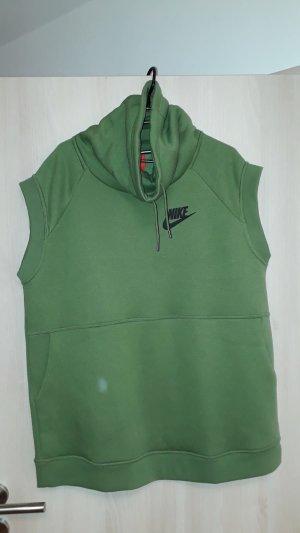 Nike Pull à capuche vert clair