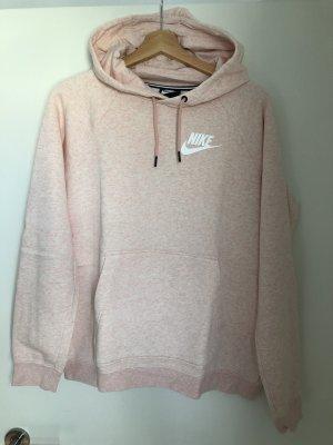 Nike Felpa con cappuccio rosa pallido