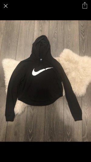 Nike Pull à capuche noir-blanc