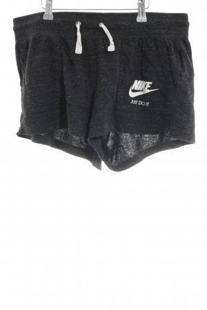 Nike Hot pants nero puntinato stile casual