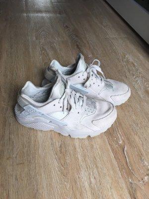 Nike Basket à lacet gris clair-blanc cassé