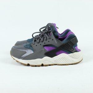 Nike Huarache Sneaker Gr. 38 grau grün lila (19/11/204)