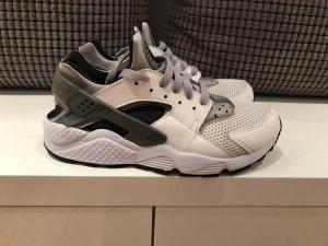 Nike Zapatilla brogue blanco-negro Cuero