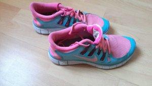 Nike ID in blau pink zu verkaufen