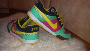 Nike ID Leder Sneaker bunt