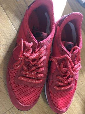 Nike Sneakers met veters rood
