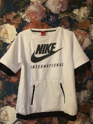 Nike Print Shirt white-black