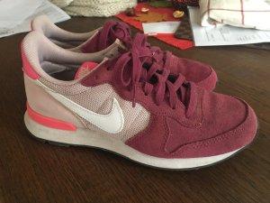 Nike Basket vieux rose-bordeau