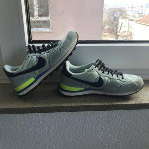 Nike Internationalist blau/limette