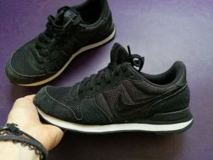 Nike Zapatilla brogue negro-blanco