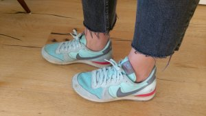 Nike internationalist Sneaker blau türkis