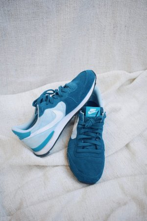 Nike Internationalist Sneaker blue force/ white / ice blue