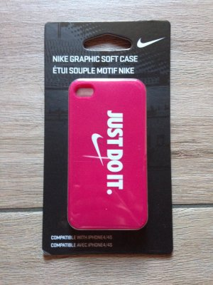 Nike iPhone 4 4s Handyhülle Case pink just do it
